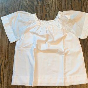 Jcrew white blouse